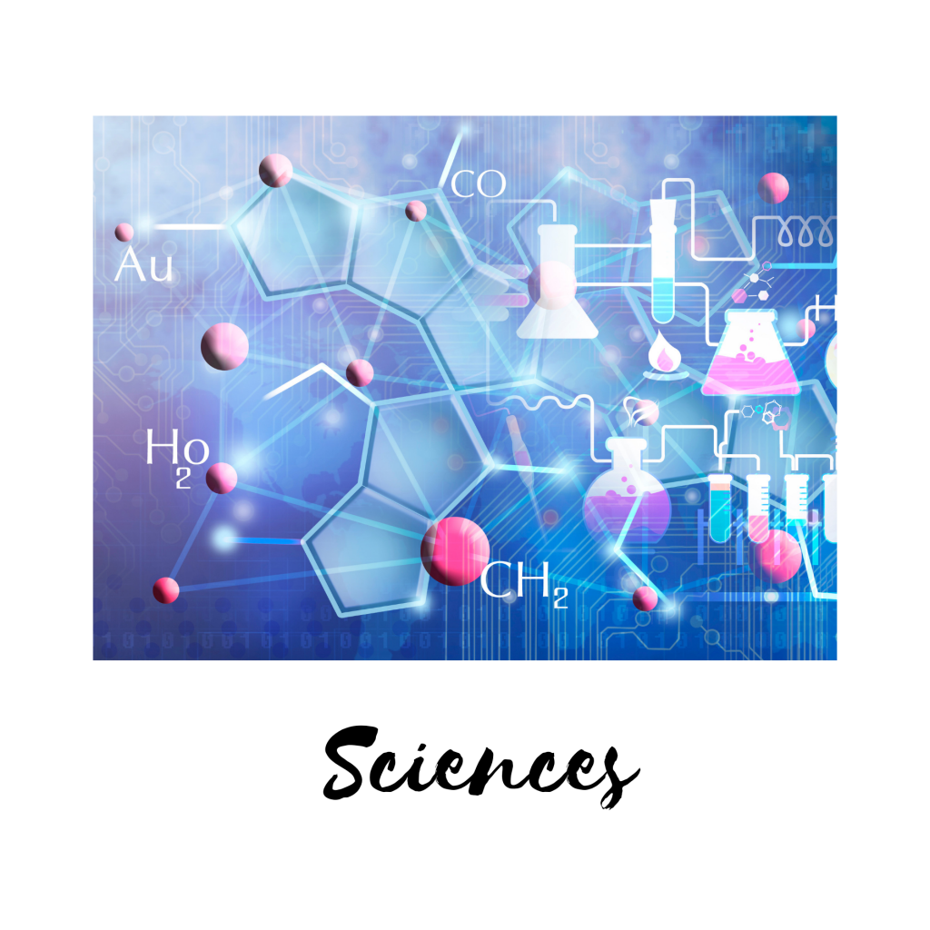 Science tutoring including chemistry, biology,  physics, earth science